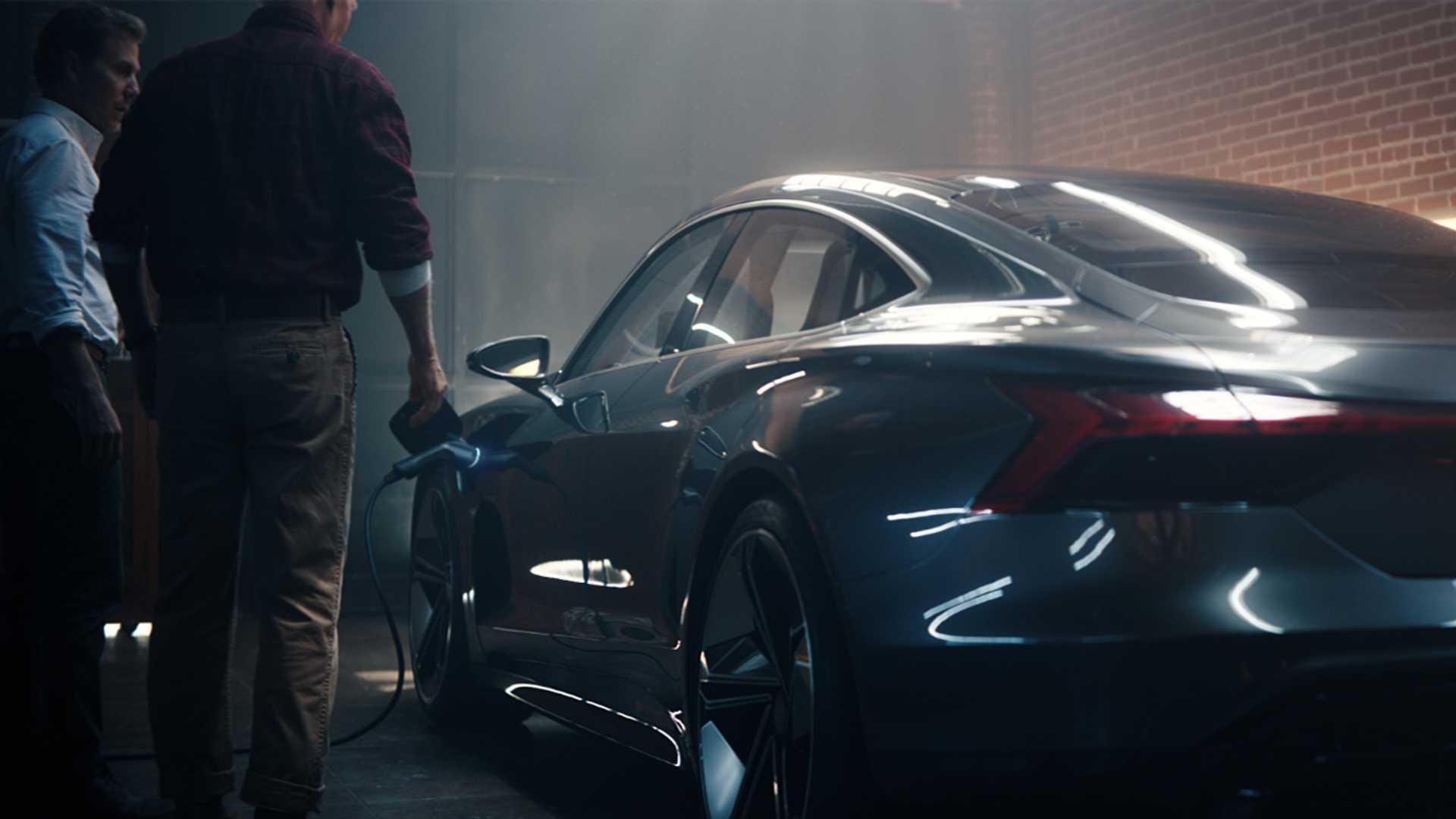 Audi представила коммерческое видео нового электрокара E-Tron GT
