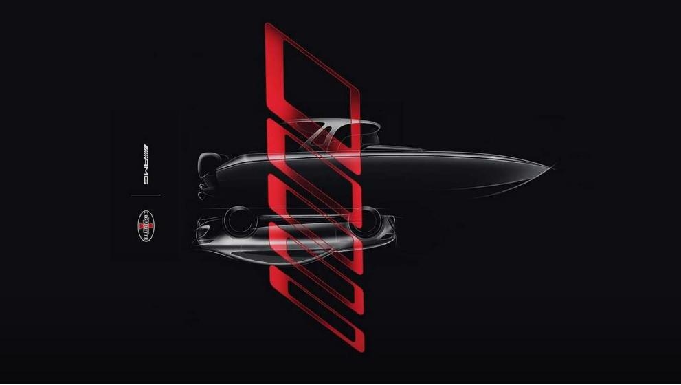 Mercedes показала тизер новенького AMG. Это … лодка