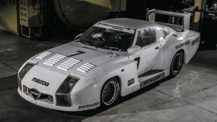 В Японии нашли уникальный спорткар 80-х годов