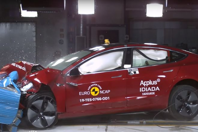 Euro NCAP обновила пятерку самых безопасных автомобилей