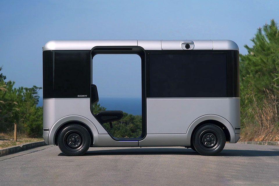 Японцы взялись за разработку беспилотного автомобиля-шаттла