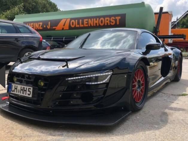 На спидометре 430 км/ч: В Германии продается уникальная Audi R8 2013 года