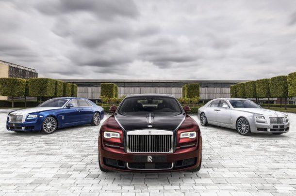 В Украине продали рекордное количество автомобилей Rolls-Royce