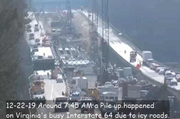 69 автомобилей, 51 пострадавший: подробности масштабного ДТП в США