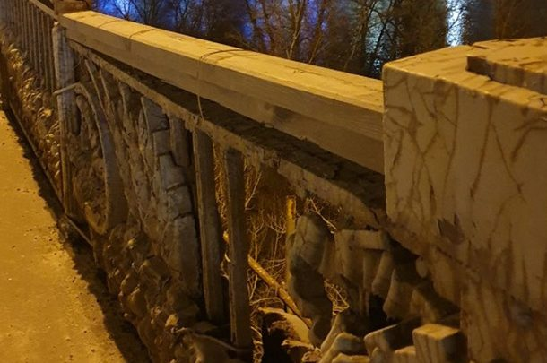 Мост Патона требует реконструкции: Состояние памятника архитектуры