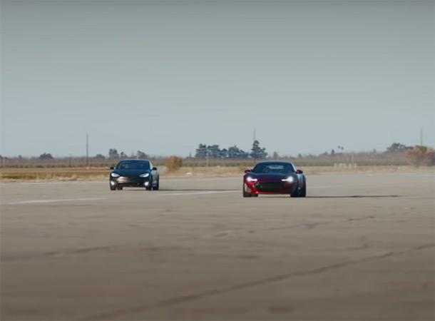 Drako GTE VS Tesla Model S: Ожидаемая победа гиперкара