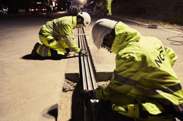 В Швеции запустили специальную электрифицированную дорогу