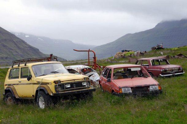 В Канаде обнаружили свалку автомобилей ВАЗ