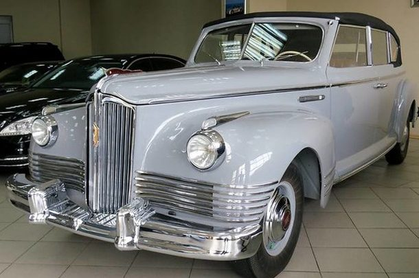В Киеве продается редкий кабриолет 1949 года за огромную сумму