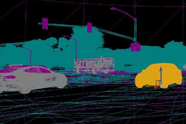 Tesla показала дорогу глазами автопилота из пикапа Cybertruck