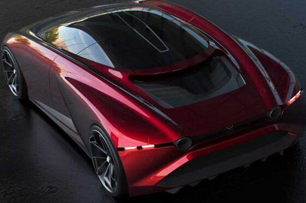 Независимый дизайнер показал рендеры суперкара Mazda